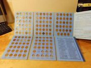 Lincoln Wheat Cents Collection 1909-1958 P/d/s - Near Complete- Only Missing 14