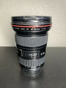 Canon Ef 16-35mm F2.8 L Ii Usm Lens Front And Rear Caps - Excellent Functional Con