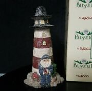 1996 Linda Lindquist Enesco Belsnickle Special Limited Edition Lighthouse Figure