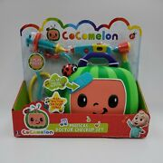 Cocomelon Feature Roleplay Musical Checkup Case 4pc With Sound