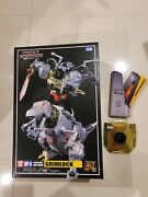Transformers Masterpiece Mp-8 Grimlock 100 Authentic Takara Tomy + Sword And Coin