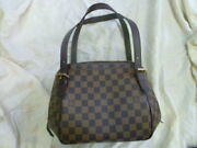 Louis Vuitton Belem Mm Previously Owned From Japan Fedex No.1197