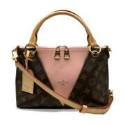 Louis Vuitton Tote Bb Women And039s Monogram Rose Poodle M43967 Previously No.9048