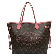 Louis Vuitton Ikat Flower Neverfulle Mm Tote Bag Women And039s Monogram No.9107