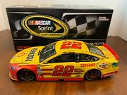 2013 Joey Logano 22 Shell Pennzoil Michigan Raced Win 1/24 Lionel 302 Of 700