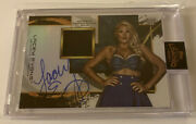 Lacey Evans Wwe Nxt Topps Fully Loaded Turnbuckle Auto Relic /99 Wrestling