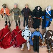 Star Wars 30 Cm Large Figure 10 + 1 Small + Various Weapons Set