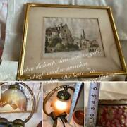 Antique Zurich Paintings Cute Lamps Made In Italy Rococo