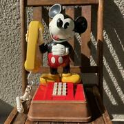 Valuable 7039s American Antique Mickey Mouse Phone Vintage Disney
