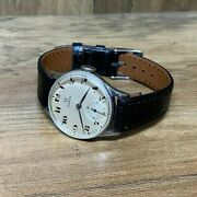 Vintage 1943 Omega Mens Wwii / Ww2 Trench Style 31mm Watch 15j 26.5 T3