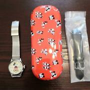 Disney Shareholders Only Mickey Mouse Watch Omega Genuine Belt 2028 Included