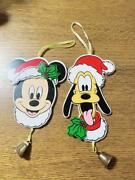 Mickey Mouse Pluto Christmas Ornament