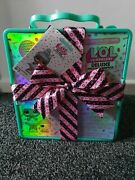 Lol L.o.l. Surprise Deluxe Present Surprise Limited Edition Teal New Doll And Pet