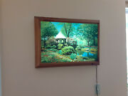 Vintage Lighted Picture