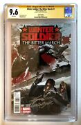 Winter Soldier The Bitter March 1 150 Inhyuk Lee Variant Cgc Ss 9.6 Scarce Mcu