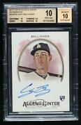 2017 Topps Allen And Ginter's Baseball Cody Bellinger Bgs 10 Pristine Rookie Auto