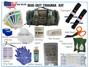 Tactical Molle First Aid Survival Bug Out Trauma Kit Ifak Stop The Bleed