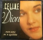 Celine Dion Mon Ami M'quittee Cd Card Sleeve Cds 6058 Netherlands