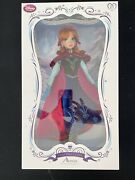 New Disney Store Frozen Anna 17 Limited Edition Collector Doll Le 5000