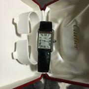 Christmas Only Tank Light Green Wristwatch Vintage No.4587