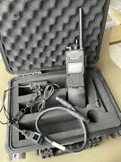 Harris Rf-7800t-hh011 Isr Video Receiver W/ Display, Cable, Antenna, And Battery