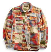 Rrl Limited Edition Work Shirt Patchwork From Japan Fedex No.9281