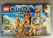 Lego Legends Of Chima The Lion Chi Temple 70010 Nib Factory Sealed