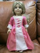Pleasant Company American Girl Doll Elizabeth In Box With Meet Dress And Shoes