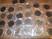 Lot Of 30 Crown Royal Apple/maple Tokens Coins