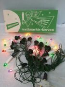 2 Rare Sets Vintage Christmas Weihnachts Kerzen Color Candle Tree Lights Germany
