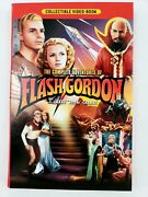 The Complete Adventures Of Flash Gordon Dvd 4-disc Set Collectible Video-book