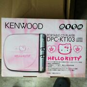 Kenwood Dpc-kt103 Portable Cd Player Sanrio Hello Kitty New From Japan