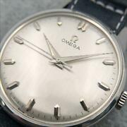 Omega Round Cal.285 Ss Hand-wound Watches From Japan Fedex No.1176