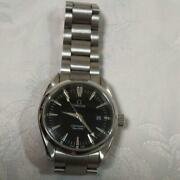 Omega Seamaster Aqua Terra 2518.50 Battery Replaced From Japan Fedex No.1214