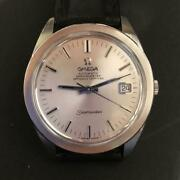 Omega Rare Seamaster Chronometer 60-70and039s From Japan Fedex No.1361