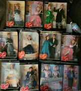 I Love Lucy Barbie Dolls Lot Of 11