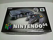 Used Imported Goods For Japan Nintendo 64 Clear Black System