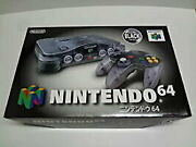 Used Imported Goods In Japan Nintendo 64 Clear Black System