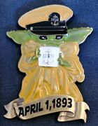 Awesome 2.5 Navy Usn Chiefs Pride Cpo Challenge Coin Babyyoda This Is The Way