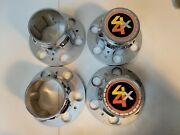 Vintage Chevy/gmc 4x4 6 Lug Bolt And Center Caps For Rally Wheels
