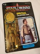 Vintage 1984 Kenner Star Wars Lando Calrissian Figure With Collectorand039s Coin