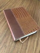 Niv 1984 Life Application Study Bible European Leather Clean Excellent