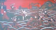 Qing Era Nezha Art Tray Of Story Written In The Ming Dynasty Date Unknown China