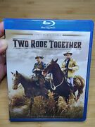 Two Rode Together Blu-ray, 2014 Twilight Time Limited Series