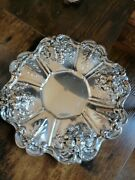 Reed And Barton Francis I Sterling Silver Sandwich Plate X569 11 1/4