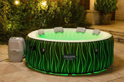 Bestway Saluspa Premium Inflatable Hot Tub Spa With Led Lights 4-6 Person