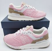New Balance 997h Desert Rose Incense Brown Fashion Sneakers Womenand039s Size 7.5