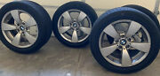 Bmw 225/50/17 4 Total Rims And Tires Conti Touring Contact Excellent Price
