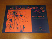 Prefab Sprout - The Devil Has All The Best Tunes - Original 1983 Uk Promo Poster