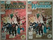 The New Warriors Full 1st Print Marvel Series By Fabian Nicieza And Mark Bagley